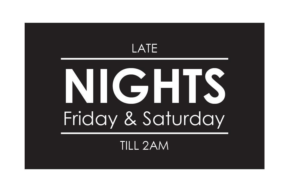 Friday_Saturday night